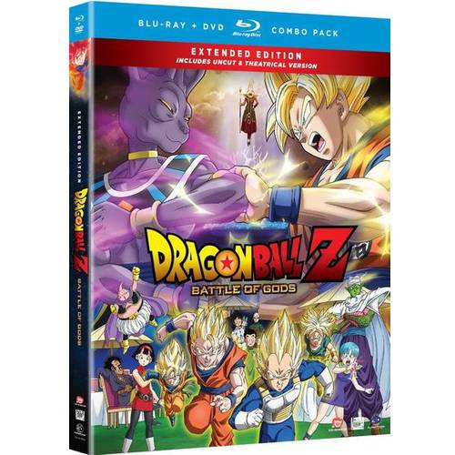 Dragon Ball Z: Battles Of Gods (Extended Edition) (Blu-ray + DVD)