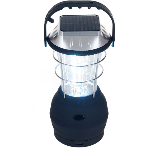 Whetstone 36-LED Solar and Dynamo Powered Camping Lantern