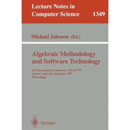 Algebraic Methodology And Software Technology  Vol  134