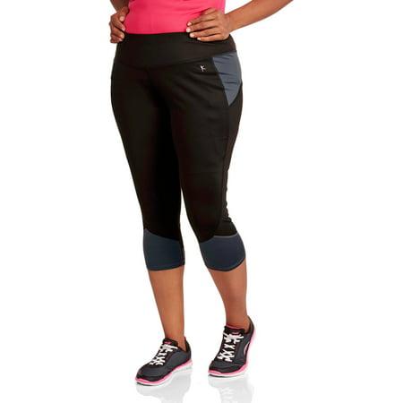00402a6ff39 Danskin Now Women s Plus-Size Fashion Capri - Walmart.com