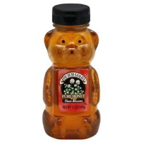 Dutch Gold Honey Clover Honey Bear - Case of 12 - 12 oz.