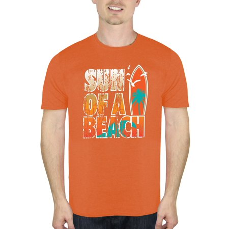 Humor Men's sun of a beach graphic t-shirt, up to size 2xl (Sun Resistant Shirts)