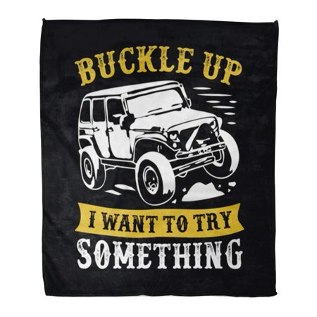 LADDKE Flannel Throw Blanket Speed Car Adventure Quote and Saying 100 Best for Truck Auto Automobile Dirt 58x80 Inch Lightweight Cozy Plush Fluffy Warm Fuzzy