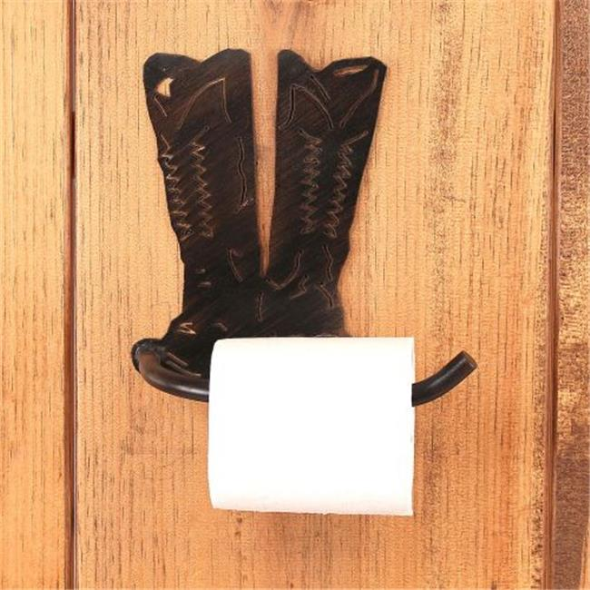 Coast Lamp Manufacturer 15-R20D Iron Cowboy Boots Arm Toi...