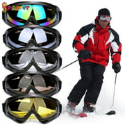 Spencer Winter Ski Snowboard Goggles UV 400 Protection Anti-Fog Snow Goggles Outdoor Sports Sunglasses for Men Women & Youth