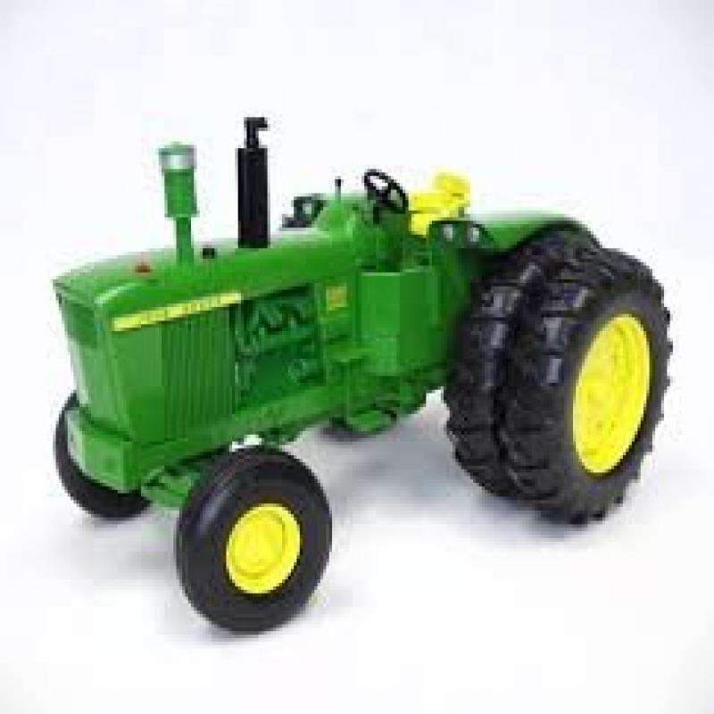 John Deere 1963 5010 Collector Edition 50th Anniversary Tractor with Duals by