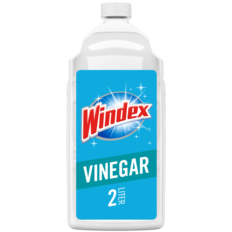 Windex Glass Cleaner Refill, Vinegar, 2 L