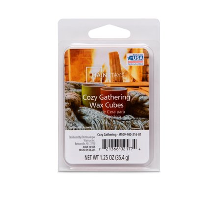 Scented Wax Melts Cozy Gathering 1.25 oz, Mainstays
