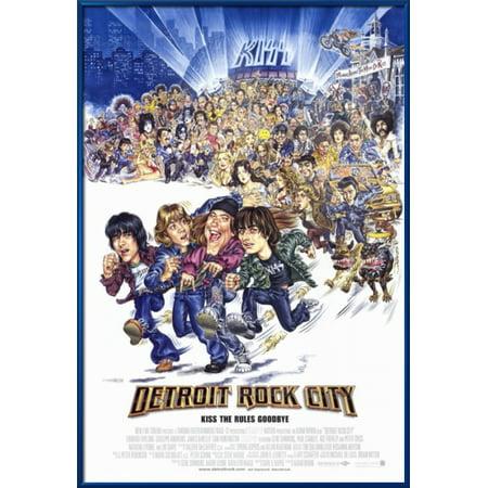"Detroit Rock City - Framed Movie Poster / Print (Regular Style) (Size: 27"" x 40"")"