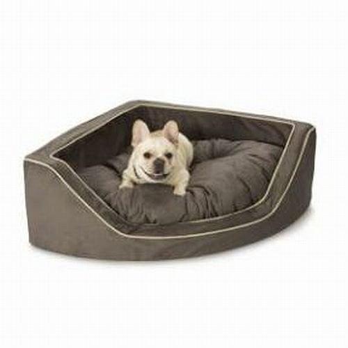 Bikemaster Snoozer Luxury Corner Pet Bed, Medium, Dk Choc...