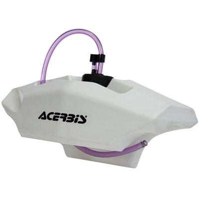 Acerbis Auxiliary Handlebar Fuel Tank 0.6 Gallon White