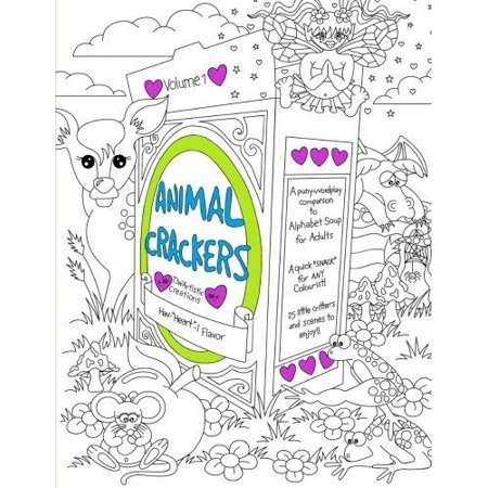 Animal Crackers  A Pun Y Word Play Companion To Alphabet Soup For Adults