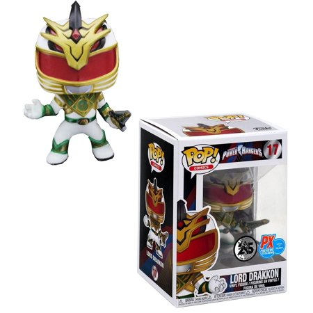 Power Rangers PX Exclusive Funko POP Vinyl Figure - Lord Drakkon Ford Ranger Pop