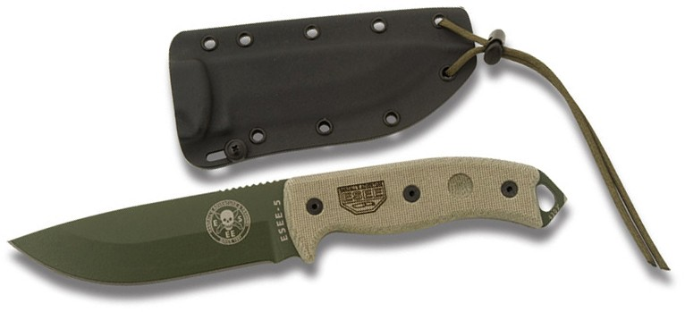 ESEE 5P-OD Fixed Blade Survival Knife by ESEE Knives