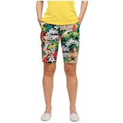 Loudmouth Golf Womens Aloha Girls 6 Shorts