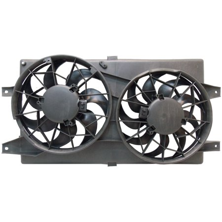 Sunbelt Radiator And Condenser Fan For Chrysler Sebring Dodge Stratus CH3115122
