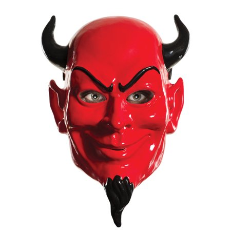 Scream Queens Horror College Sorority Red Devil 1/2 Mask Costume Accessory