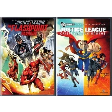 Justice League  Flashpoint Paradox   Crisis On Two Earths  Walmart Exclusive