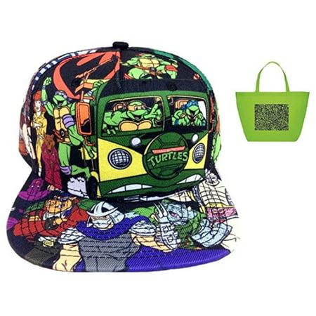 Teenage Mutant Ninja Turtles Sublimated Snapback Hat & Tote Gift Set
