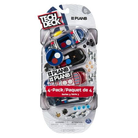 - Tech Deck - 96mm Fingerboards - 4-Pack - Plan B