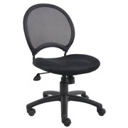 Adjustable Mesh Back Desk Chair In Black
