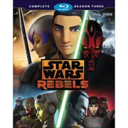 Star Wars Rebels: Season Three (Blu-ray) by Walt Disney