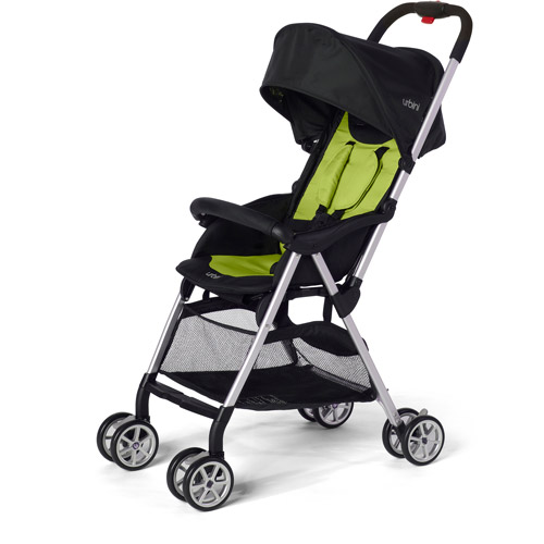 Urbini Humming Bird Stroller, World's Lightest Stroller, Lime