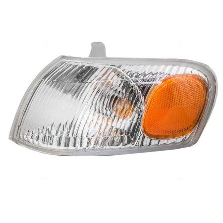 Corner Lights Lens - BROCK Park Signal Corner Marker Light Lamp Lens Driver Replacement for 98-00 Toyota Corolla 81520-02040