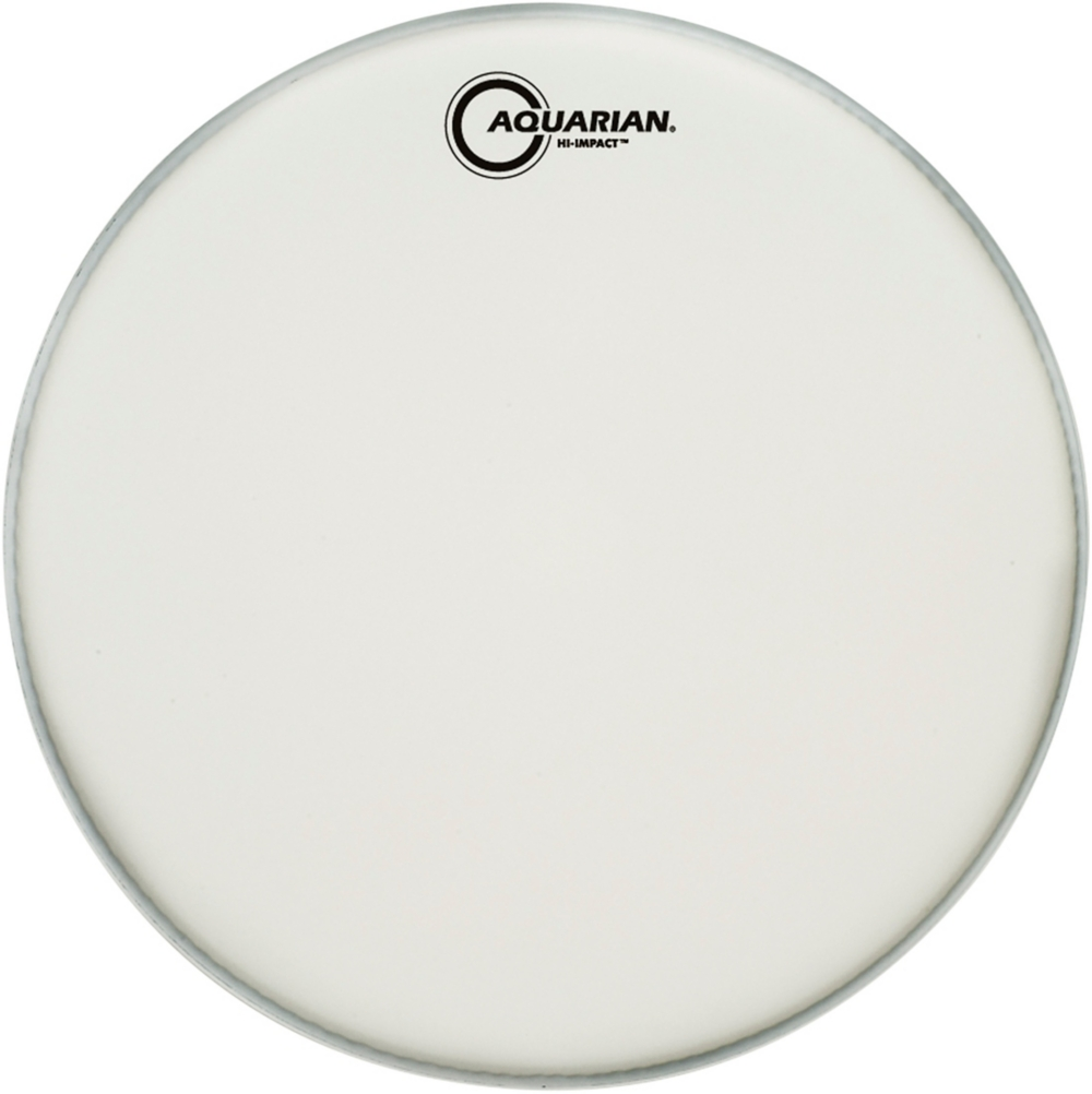 Hi-Impact Snare White Snare Drum Head by Aquarian