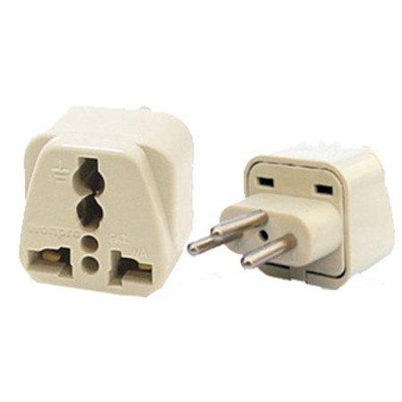 Universal Grounded Travel Plug Adapter For Switzerland (Type J) ()