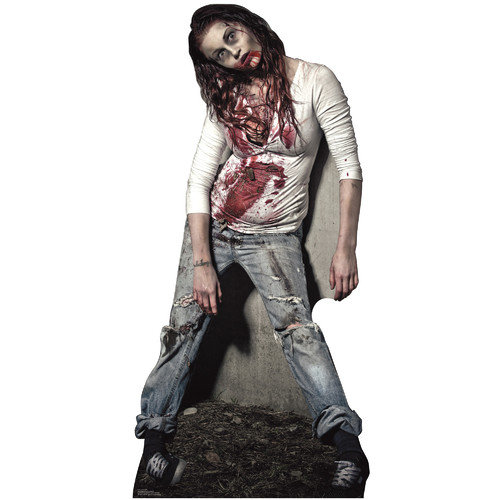 Advanced Graphics Halloween Zombie Girl Stand-Up