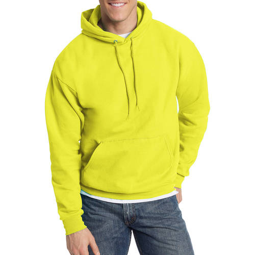 Hanes Men's EcoSmart Fleece Pullover Hoodie with Front Pocket
