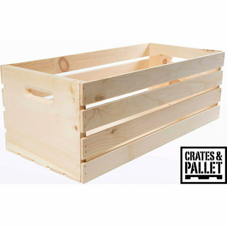 Crates and pallet x large wood crate - Decorative wooden crates ...