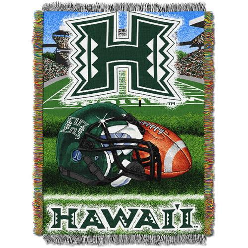 "NCAA 48"" x 60"" Tapestry Throw Home Field Advantage Series- Hawaii"