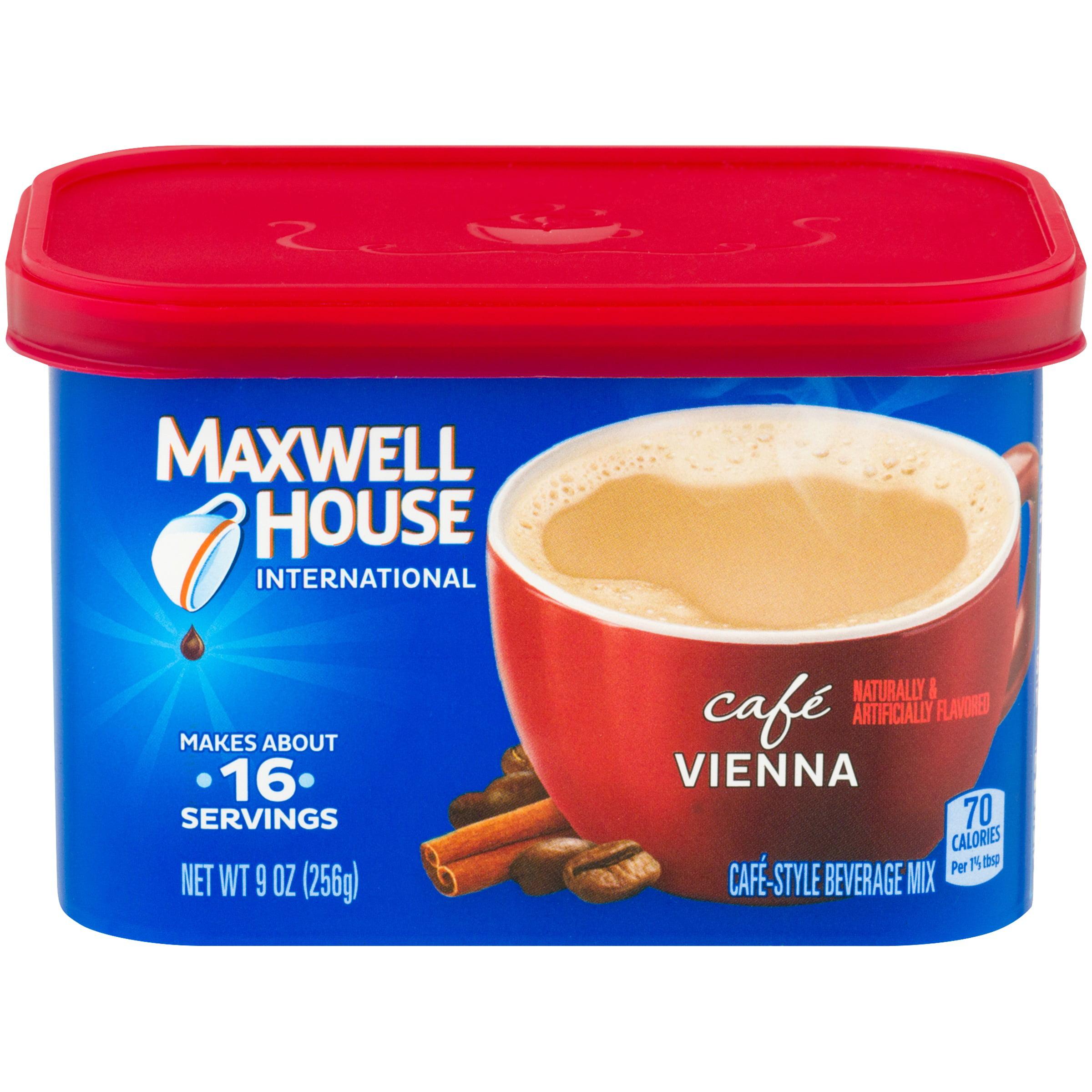 Maxwell House International Café Vienna Café-Style Beverage Mix 9 oz. Tub