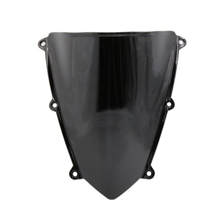 Unique BargainsBlack ABS Plastic Motorcycle Windshield Windscreen for  CBR600RR 2007-2012 ()