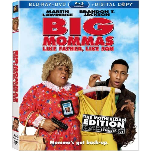 Big Momma's House: Like Father Like Son (Blu-ray + DVD) (Widescreen)