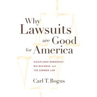 Why Lawsuits Are Good for America : Disciplined Democracy, Big Business, and the Common Law
