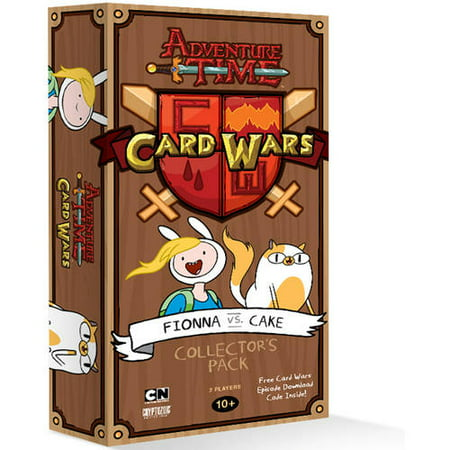 Adventure Time Card Wars, Fionna vs Cake](Card Wars Adventure Time Halloween Cards)