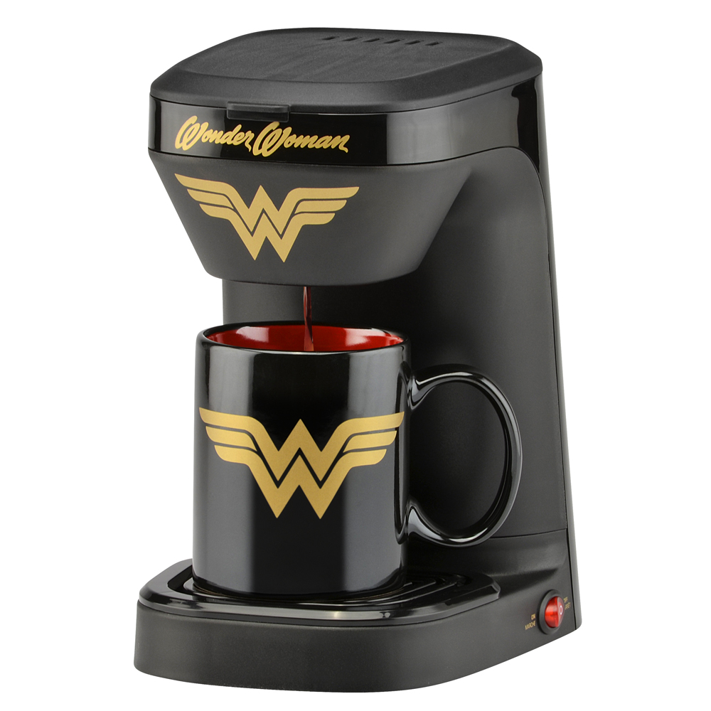 DC Wonder Woman 1-Cup Coffee Maker