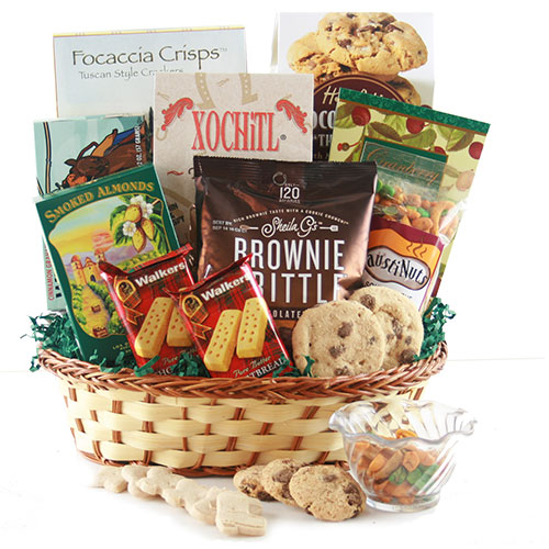 All About Snacks Snack Gift Basket