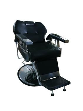 Ainfox Black All Purpose Hydraulic Recline Barber Salon Chair Spa Classic Style