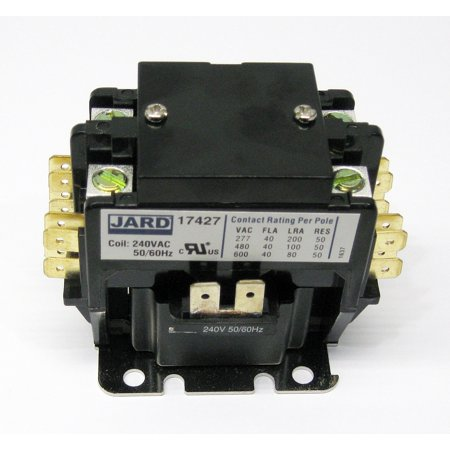 PC240C Contactor Double Two Pole 40 Amps 240 V for Air Conditioner