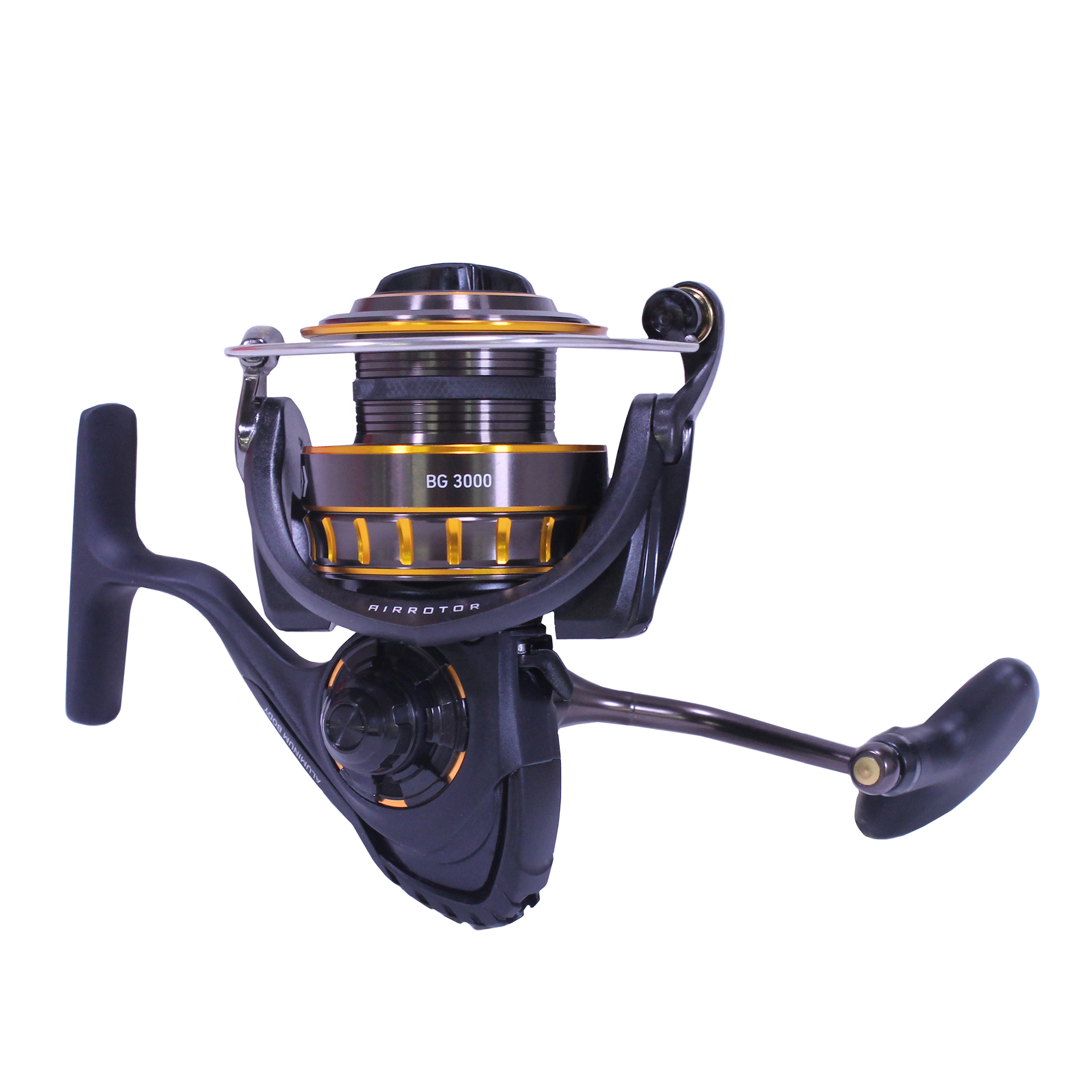"Daiwa BG Saltwater Spinning Reel 3000, 5.6:1 Gear Ratio, 6+1 Bearings, 37.10"" Retrieve Rate, 15.40 lb Max Drag"