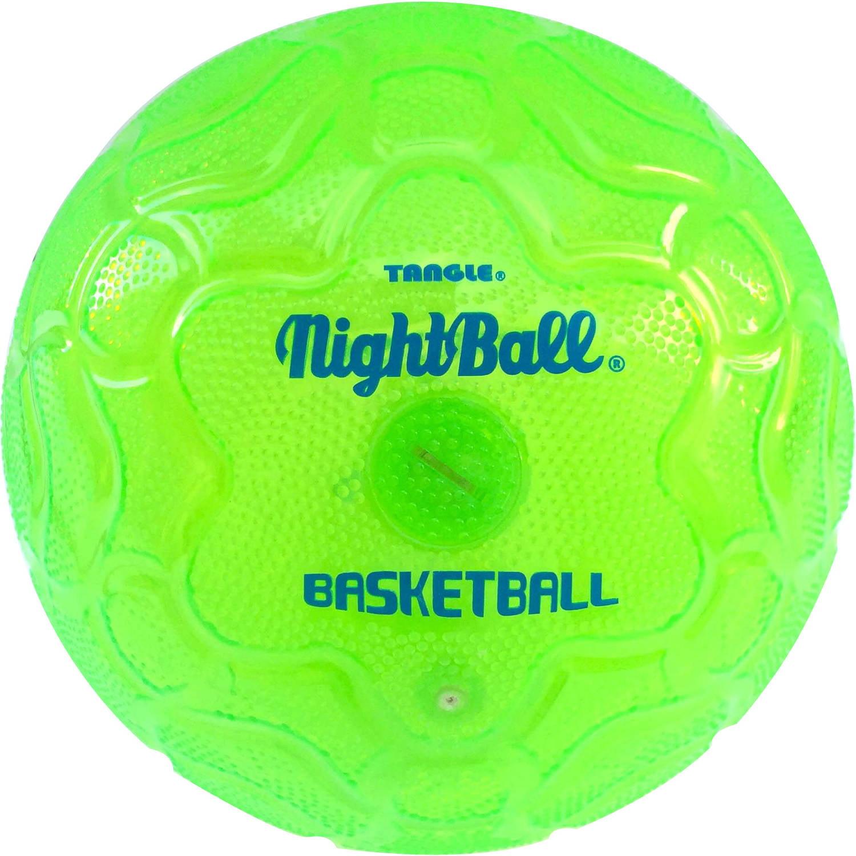 Tangle 12857 NightBall Basketball, Electric Green