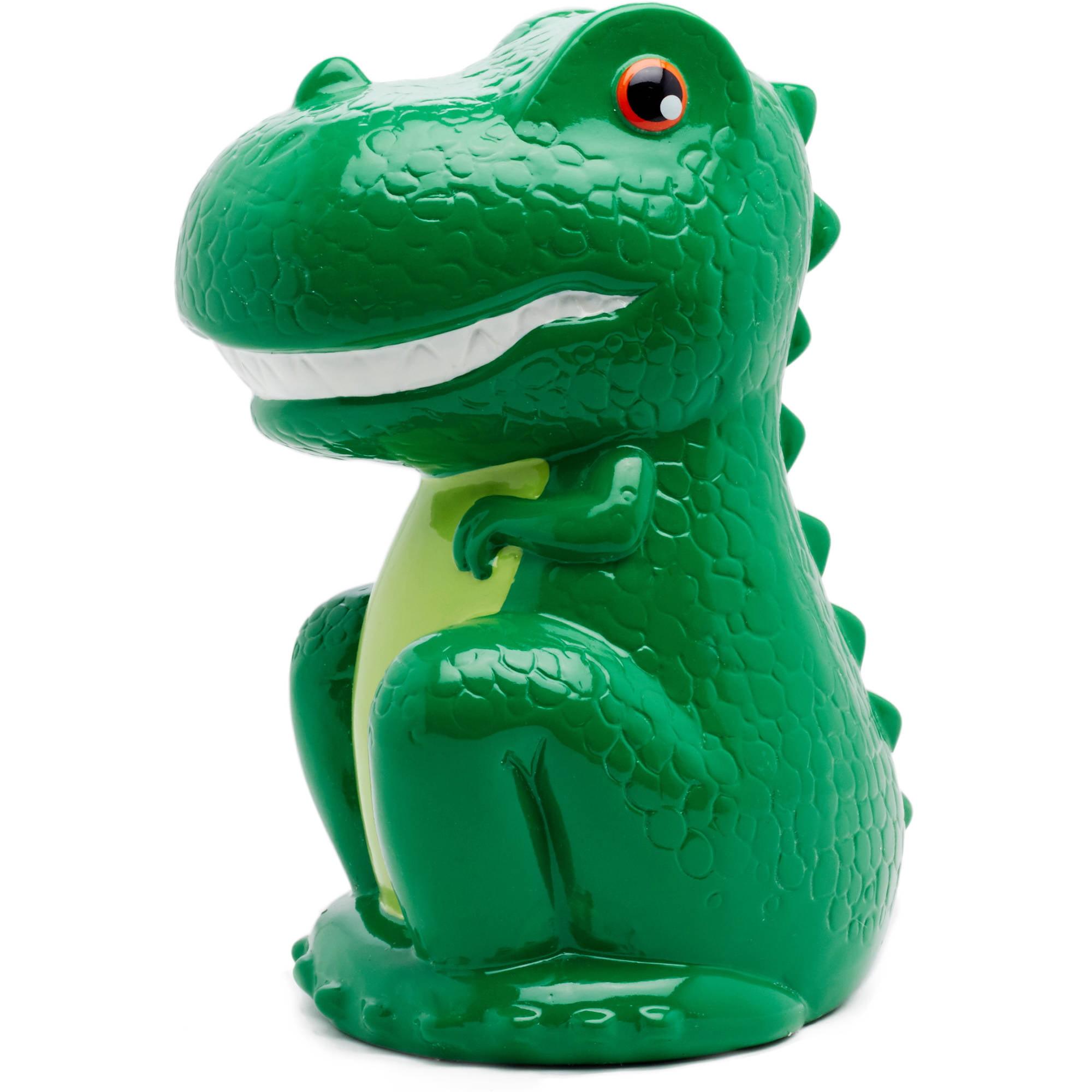 Dinosaur Design Personalised Ceramic Piggy Bank