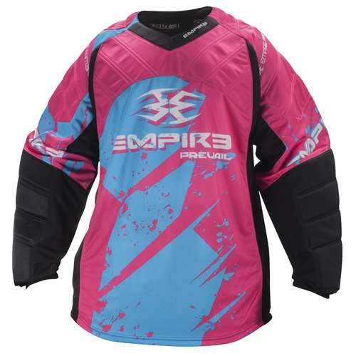 Empire 2014 Paintball Jersey - Prevail FT - Magenta/Blue - 3XL