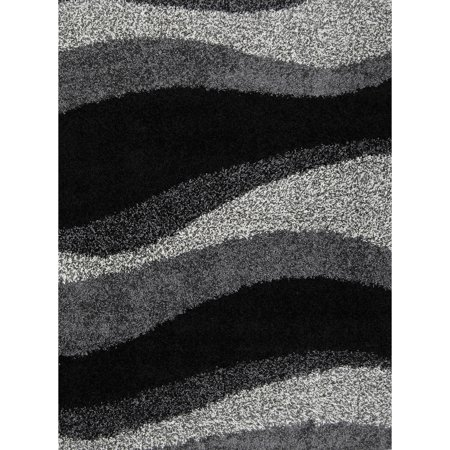 Home Dynamix Synergy Collection Black Grey Contemporary