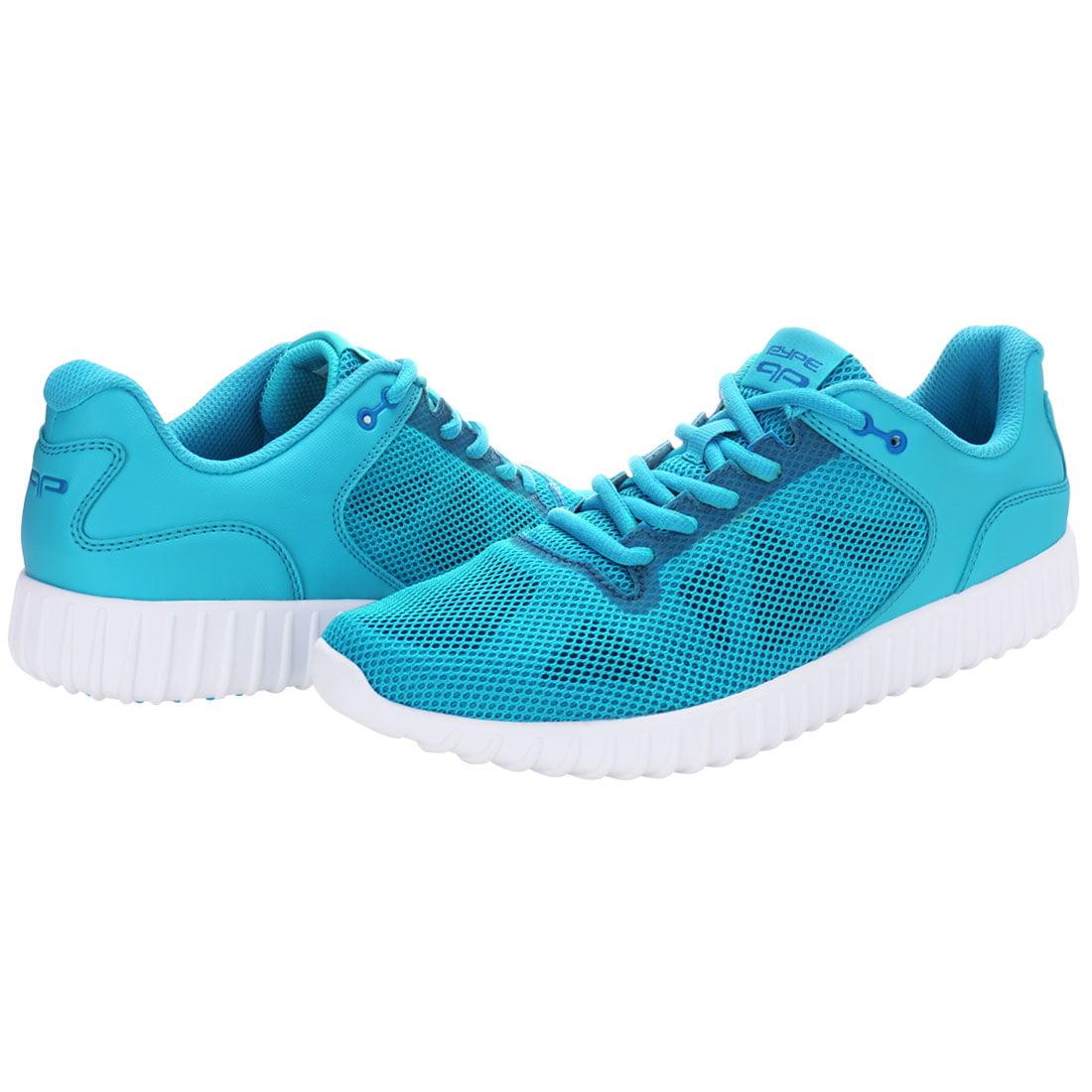 PYPE Women Geometric Prints Lace Up Mesh Training Shoes Blue US 7.5 - image 5 de 7