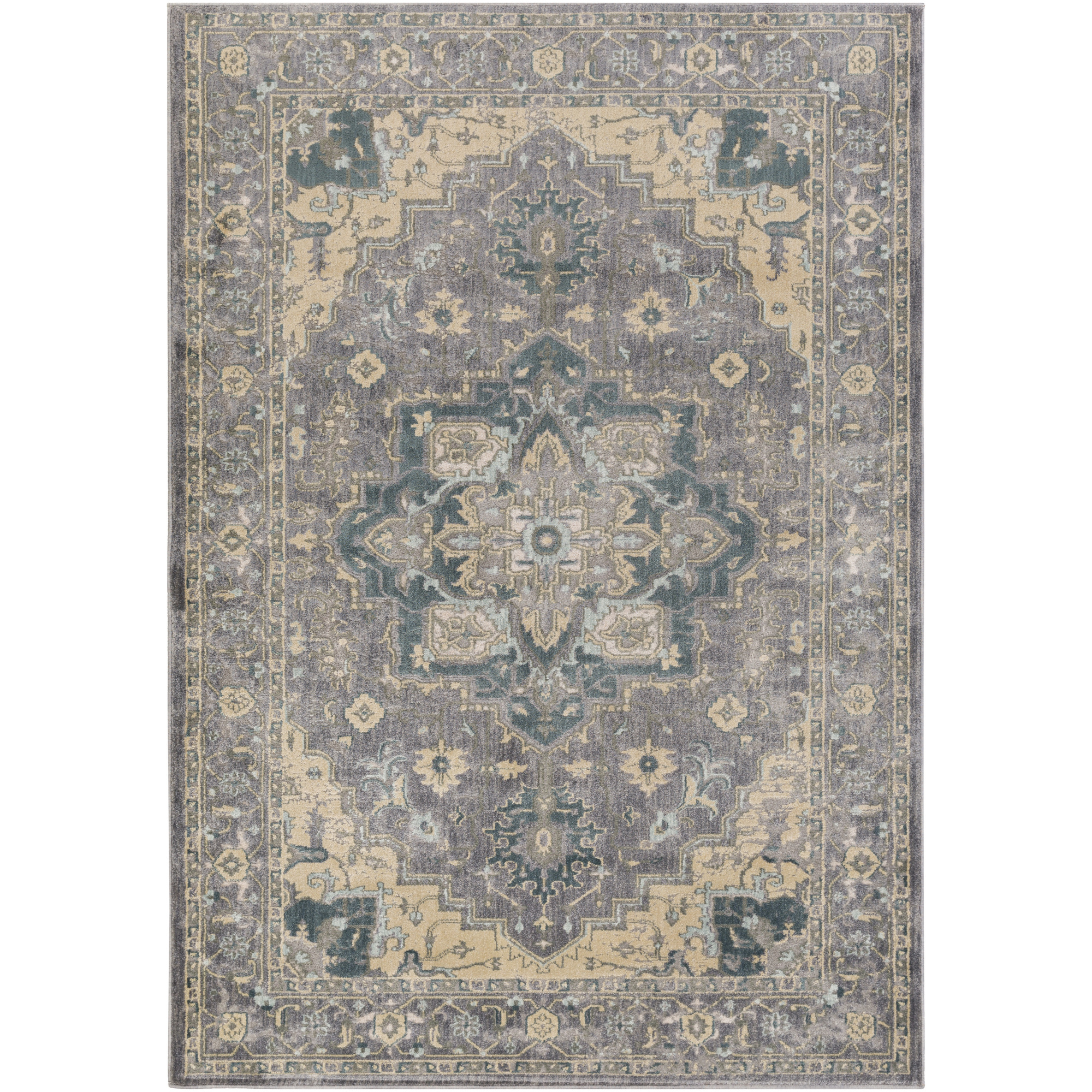 "Art of Knot Carmen 1'10"" x 2'11"" Rectangular Area Rug"
